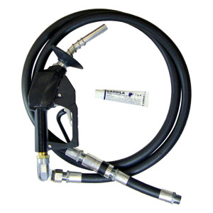 Unleaded Nozzle Complete Hanging Hardware Hose Assembly - 9 ft. Hose - Not for Retail Use