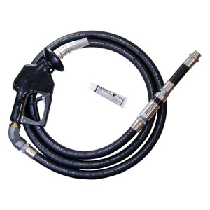 Diesel Truck Stop Nozzle Complete Hanging Hardware Hose Assembly - 12 ft. Hose