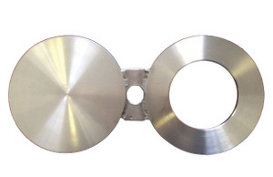 CDR 8 in. 304 Stainless Steel Spectacle Blind Flanges