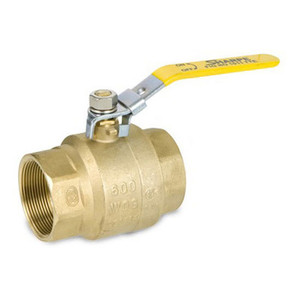 Smith Cooper 1/4 in. Brass Ball Valve w/ Locking Handle - Full Port