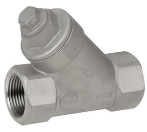 Smith Cooper Cast 150# Stainless Steel Threaded Wye Strainers