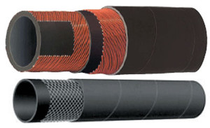 Kuriyama T253AA Alfagomma 4 in. x 100 ft. 150 PSI EPDM Water Discharge Hose - Hose Only