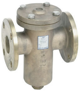 Sure Flow 150# Stainless Steel Flanged Basket Strainers