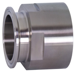 Bradford 22MP Series 316L Stainless 1 in. Clamp x Female NPT Adapters