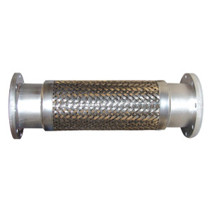 2 in. Stainless Steel Braided Hose Assemblies w/ 150# Flanged Ends