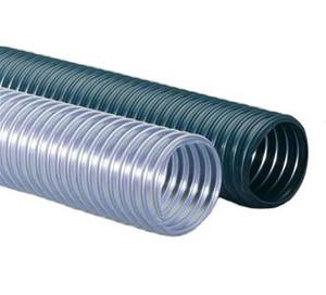 Flexaust Flexadux® PV (R-3) Series 50 ft. Duct Hose (20°F to 160°F) (Clear)