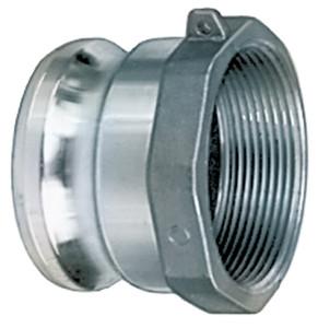 1 in. Aluminum Part A Male Adapter x Female NPT