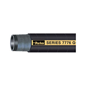 Parker Series 7776 Gold Label 2 in. Aircraft Fueling Hose Assemblies w/ Male NPT Ends