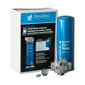 Donaldson 1 1/4 in. NPT Standard Clean Diesel Kit - 4 Micron