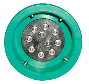 Civacon Green Thermistor Plug Only w/ 4 J-Slot Pins & 10 Contact Pins for Civacon or Scully Systems