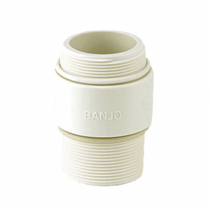 Banjo 2 in. NPT x BSP Nipple FDA Union Valves