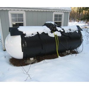 Powerblanket Heater for 500 Gallon Propane Tank