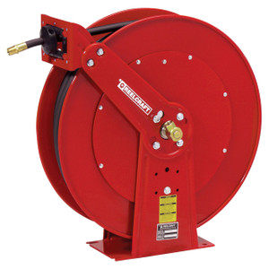 Reelcraft 80000 Series Pressure Wash Spring Retractable Hose Reel with 3/8 in. x 100 ft. Hose