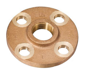 Smith Cooper Bronze 150# Standard Flanges - Threaded
