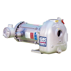 AMT/Gorman Rupp Cast Iron 2 in.  2 HP Self-Priming 3450 RPM Centrifugal Flammable Liquids Pumps