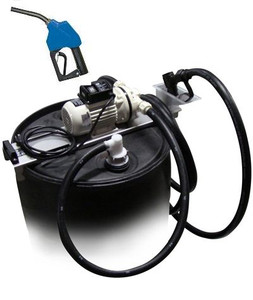 JME 12 Volt DEF Transfer System w/ Automatic Nozzle for 55 Gallon Drums