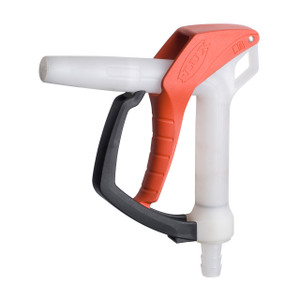 Flux 3/4 in. Polyvinylidenefluoride (PVDF) Hand Nozzle w/ Viton Seal