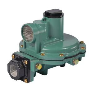 Emerson Fisher Type R622 1/2 in. FNPT x 1/2 in. FNPT Second Stage Regulator w/ 9-13 in. w.c. Spring, 875K BTU/HR