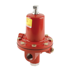 Emerson Fisher 64 Series 1/2 in. FNPT x 1/2 in. FNPT High-Pressure Regulator - 50 PSI, 5.25M BTU/HR