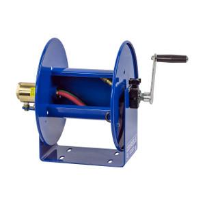 Coxreels 100W Series Welding Hand Crank Hose Reel - 1/4 in. x 50 ft. - Reel Only