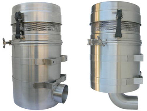 Paragon Stainless Steel Bottom Outlet Blower Filter For Gardner Denver/Drum u0026 Paragon P857/D807/D907/CDL Blowers Vertical Flow Pressure / Vacuum - John M. ...  sc 1 st  John M. Ellsworth & Paragon Stainless Steel Bottom Outlet Blower Filter For Gardner ...