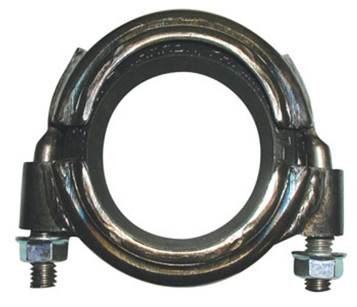 Allegheny 4 in. Grooved Clamp - Zinc-Plated Steel