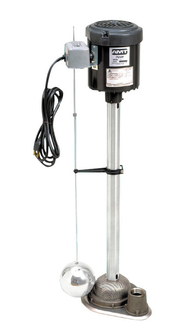 AMT Industrial/Commercial Sump Pump - 100 GPM - 32 in. - Cast Iron