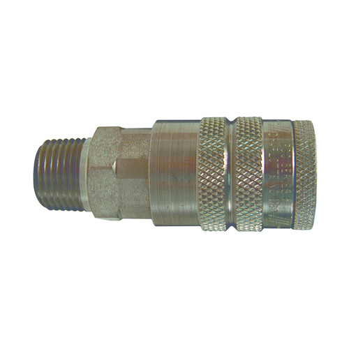 Dixon Air Chief 1/4 in. Steel Industrial Quick-Connect Coupler - 3/8 in. Body Size