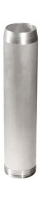 Aluminum Threaded Nozzle Tubes - 1-1/4 in. NPT - 1-5/16 in. in. - Aluminum