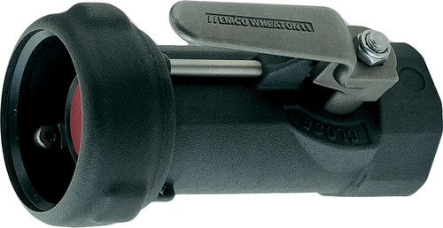 Emco Wheaton 2 in. Female NPT  Dry-Break Straight Coupler w/ Viton Seals - Straight w/out Swivel