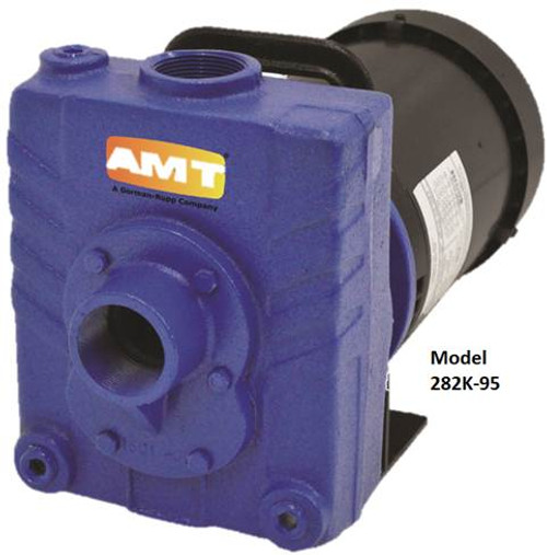 AMT 1 1/2 in. Cast Iron Self-Priming Centrifugal Pump - E - 1 1/2 - 230/460 3PH - 100 - 1 1/2 in.