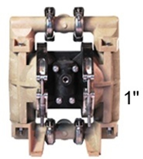 ALL-FLO 1 in. Polypropylene Air Diaphragm Pump