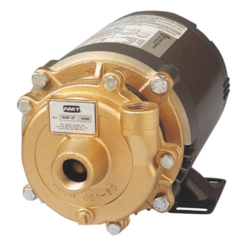 AMT Cast Bronze Straight Centrifugal Pump - A - 1/3 - 115/230-1PH - 34 - 3/4 in. x 1/2 in.