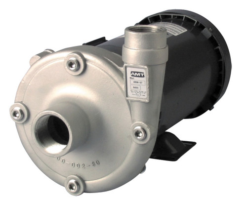 AMT Stainless Steel High Head Straight Centrifugal Pump - A - 3/4 - 115/230-1PH - 42 - 1 1/4 in. x 1 in.