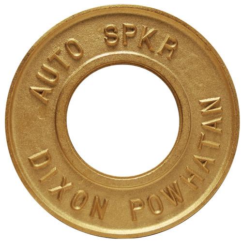 Dixon Powhatan 2 1/2 in. Pipe Round Identification Auto-Sprinkler Plate