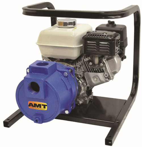 AMT/Gorman Rupp 1-1/2 in. Cast Iron Engine Driven Two Stage High Pressure Pump - 68 GPM - Yes - Honda GX160 - 5 - 2 - 0.82