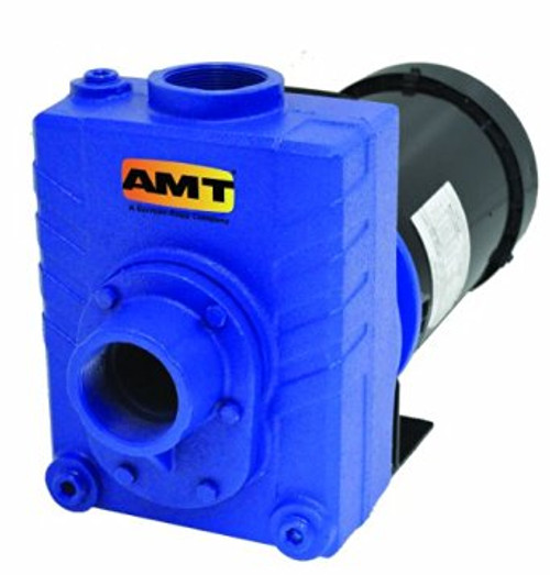 AMT 2 in. Cast Iron Self-Priming Centrifugal Pumps - B - 3 - 230 1PH - 125 - 2 in.