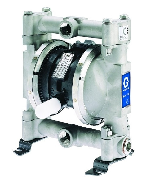 Husky stainless steel 716 air operated double diaphragm pump w husky stainless steel 716 air operated double diaphragm pump w stainless steel seats and buna n diaphragms john m ellsworth co inc ccuart Images