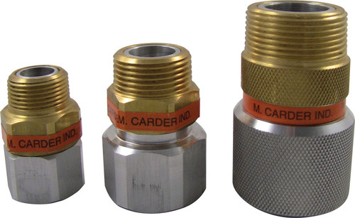 M. Carder Single Plane Hose Swivels
