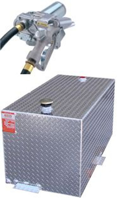 DOT Certified For Gas Or Diesel 110 Gallon Transfer Tank With GPI 150SEM Pump