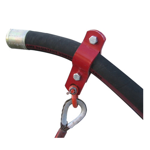 American Iron Works Hose Hobble Clamp x Anchor - 2 Bolt Style w/ Cable Assembly