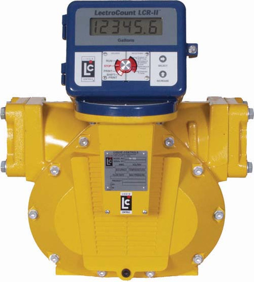 Liquid controls m series in flanged gpm meters