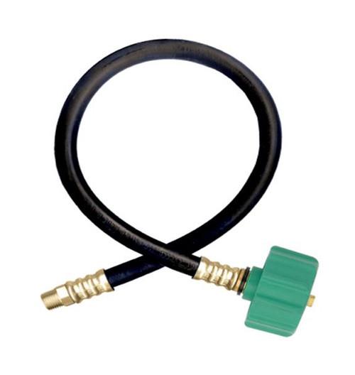 Gas flo type propane hose assembly w in mnpt