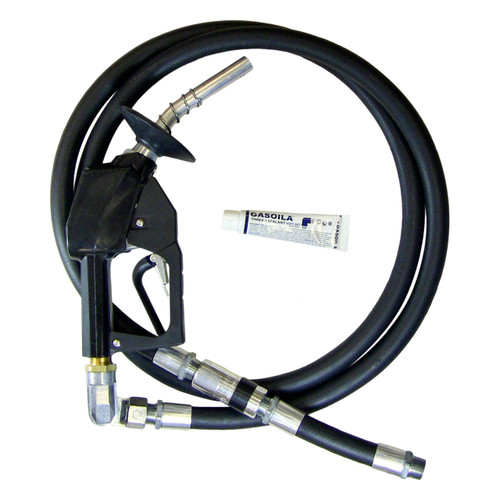 Unleaded Prepay Nozzle Complete Hanging Hardware Hose Assembly - 9 ft. Hose