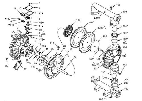 Fuel Transfer Pump Filter Kit