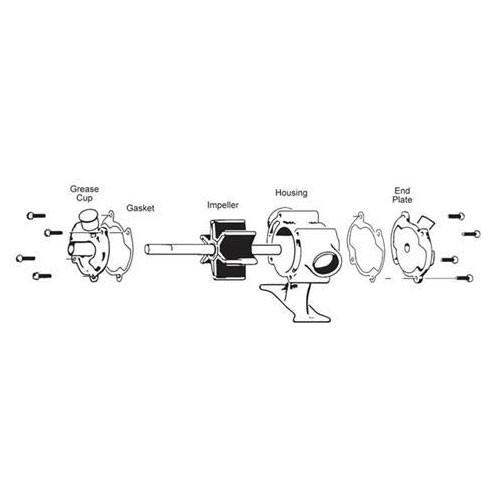 loren simer u0026 39 s paddle pump replacement impeller kit for