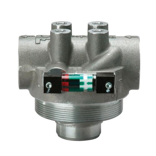 High Pressure Filter Assembly : Donaldson bulk high pressure filter head assembly for