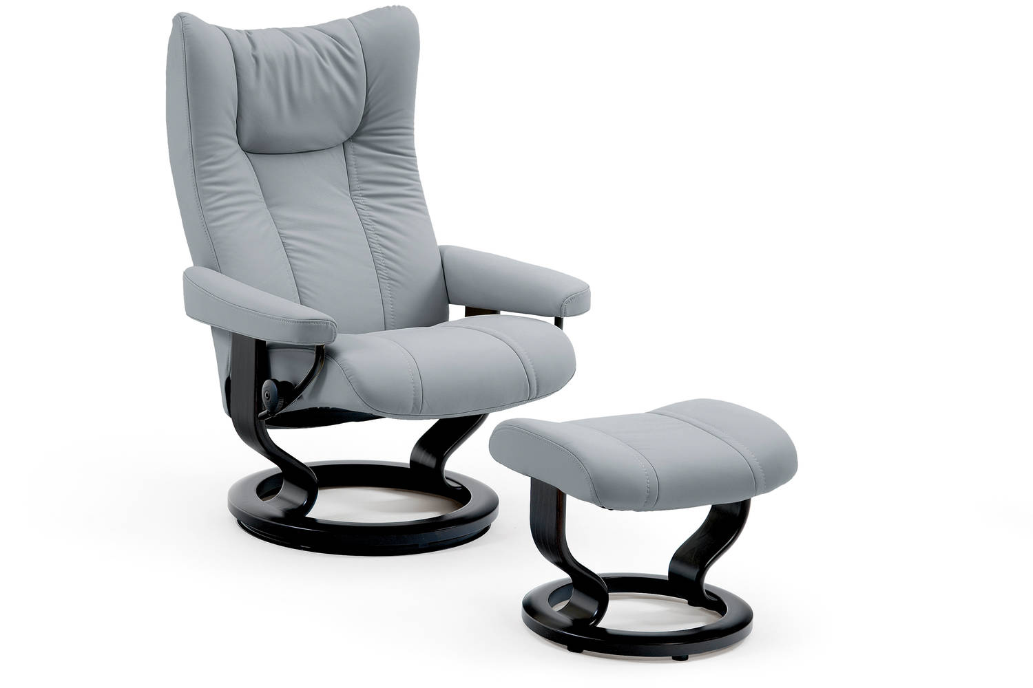 Stressless Eagle Recliners ship Fully-Assembled.