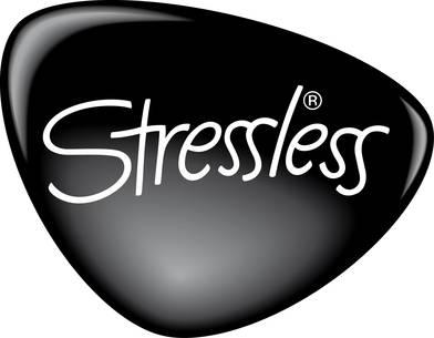 Stressless Logo- Black and White