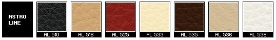 Astro Line Leather for Fjords Recliners, Relaxers, and Sofa items.